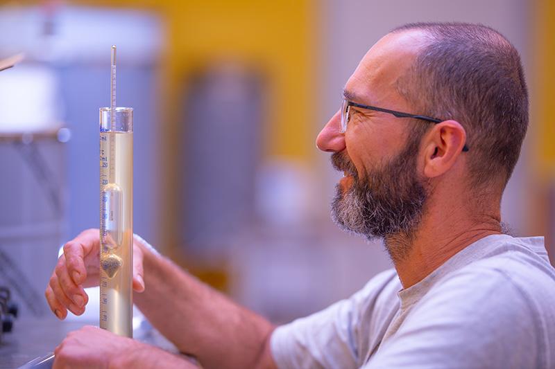 Suivi de la fermentation et densité - Aréomètre